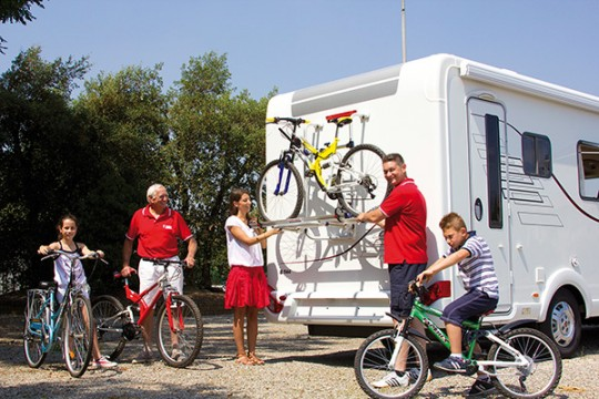 Motorhome Bike Rack
