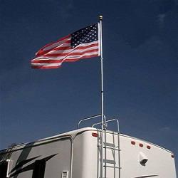 Motorhome Flag Pole