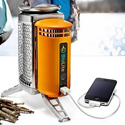 amp stove phone charger