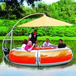 Barbecue boat